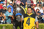 The Factor in the Bing Crosby Stakes (G1) at Del Mar Race Course in Del Mar, California on July 29, 2012.