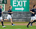 16/10/2010   Copyright  Pic : James Stewart.sct_jsp006_stirling_v_dundee  .:: IS THIS AN OMEN??? LEAH GRIFFITHS HEADS TOWARDS THE EXIT DURING WARM UP  ::  .James Stewart Photography 19 Carronlea Drive, Falkirk. FK2 8DN      Vat Reg No. 607 6932 25.Telephone      : +44 (0)1324 570291 .Mobile              : +44 (0)7721 416997.E-mail  :  jim@jspa.co.uk.If you require further information then contact Jim Stewart on any of the numbers above.........