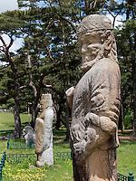 Gwaneung-Grab des Silla-Königs Wonseong, Gyeongju, Provinz Gyeongsangbuk-do, Südkorea, Asien, UNESCO-Weltkulturbe<br /> Gwaneung tomb of Silla king Wonseong, Gyeongju,  province Gyeongsangbuk-do, South Korea, Asia, UNESCO world-heritage