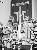Plock 21.04.2019 Polska<br /> The Holy Sepulcherin St. Dominic Church in Plock (centre Poland)<br /> Photo: Adam Lach