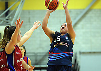 Action from the 2019 Schick AA Girls' Secondary Schools Basketball Premiership National Championship match between One Tree Hill School and Rangitoto College at the Central Energy Trust Arena in Palmerston North, New Zealand on Monday, 30 September 2019. Photo: Dave Lintott / lintottphoto.co.nz