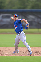 New York Mets Jimmy Titus (84) throwing during a Minor League Spring Training game against the Houston Astros on April 27, 2021 at FITTEAM Ballpark of the Palm Beaches in Palm Beach, Fla.  (Mike Janes/Four Seam Images)