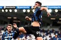 esultanza gol Roberto Piccoli<br /> Bergamo 31/07/2021 <br /> Football 2021/2022 preseason friendly match between Atalanta BC and Pordenone <br /> Photo Image Sport / Insidefoto