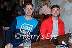 Enjoying the evening in Teacht Beag on Saturday, l to r: Martin Nix and JP O'Sullivan