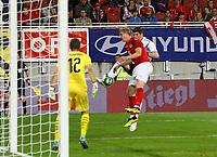 Chance für Mario Gomez (Deutschland Germany) - 02.06.2018: Österreich vs. Deutschland, Wörthersee Stadion in Klagenfurt am Wörthersee, Freundschaftsspiel WM-Vorbereitung