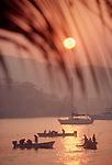 Zihuatanejo, Mexico, Fishing boats, sunrise, Mexico's West coast, Guerrero,