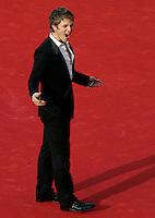 """L'attore Charlie Bewley percorre il red carpet per la presentazione del film """"The Twilight Saga: New Moon"""" al Festival Internazionale del Film di Roma, 22 ottobre 2009..Actor Charlie Bewley walks the red carpet to present  the movie """"The Twilight Saga: New Moon"""" at Rome Film Festival, in Rome, 22 october 2009..UPDATE IMAGES PRESS/Riccardo De Luca"""