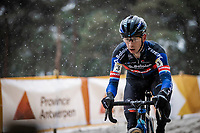 Lars van der Haar (NED/Baloise Trek Lions)<br />  <br /> Elite Men's Race<br /> Zilvermeercross Mol (BEL) 2021<br /> <br /> ©Kramon