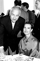 August 30, 1994 File Photo -  <br /> attend the tribute to Rene Malo, during the 1994 World Film Festival