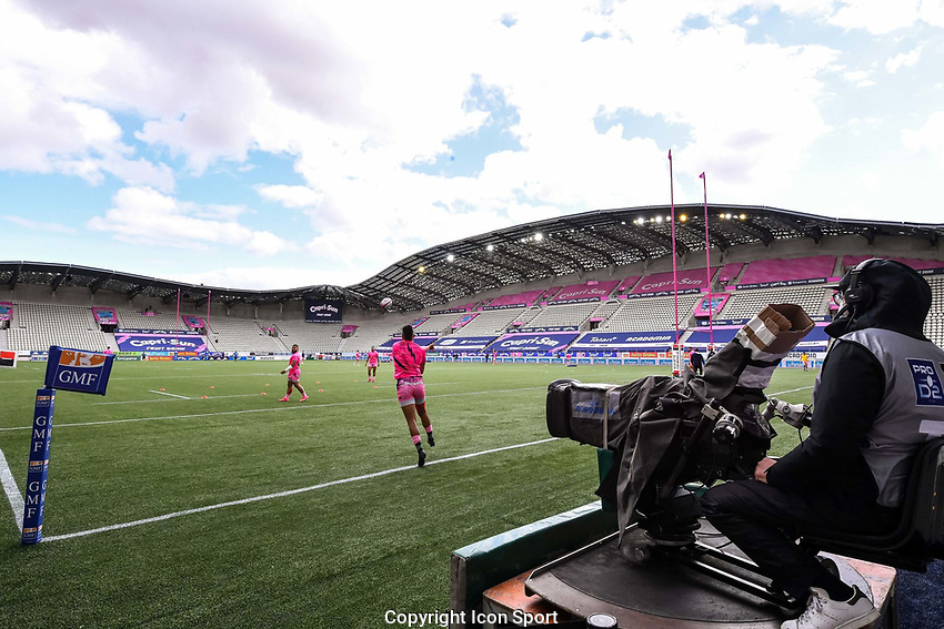 General view ahead of the French Top 14 rugby match between Stade Francais and Clermont at Stade Jean Bouin on March 27, 2021 in Paris, France. (Photo by Baptiste Fernandez/Icon Sport) - --- - Stade Jean Bouin - Paris (France)