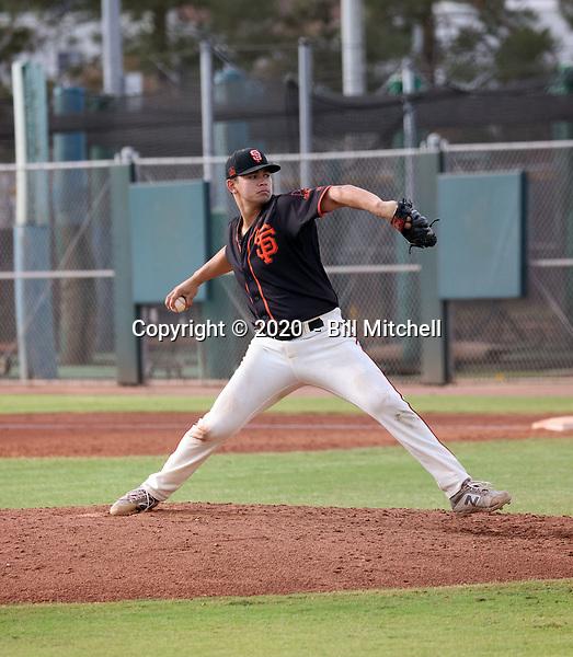 Blake Rivera - 2020 AIL Giants (Bill Mitchell)