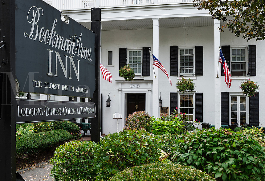 The Beekman Arms Inn, oldest inn in America, Rhinebeck, New York, USA