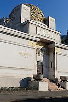 Gebäude der Wiener Secession erbaut von Joseph Maria Olbrich 1897/98 Friedrichstraße 12, 1010 Wien, Österreich, UNESCO-Weltkulturerbe<br />  building, of Vienna Secession built by Joseph Maria Olbrich, Vienna, Austria, world heritage