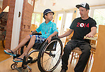 Ottawa ON - June 4 2014 - Josh Dueck during the celebration of Excellence at Ronald McDonald House Ottawa. (Photo: Matthew Murnaghan/Canadian Paralympic Committee)