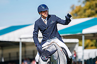 USA-William Coleman rides Tight Lines during the first day of Dressage. 2019 GBR-Land Rover Burghley Horse Trials. Wednesday 4 September. Copyright Photo: Libby Law Photography