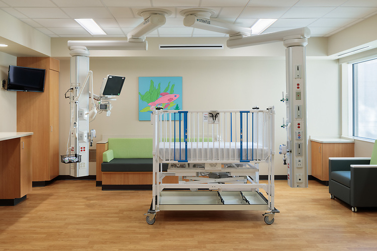 Norton Children's Hospital Jennifer Lawrence Cardiac Intensive Care Unit | Design Group