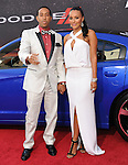 Chris Ludacris Bridges and Eudoxie  at The Universal Pictures American Premiere of Fast & Furious 6 held at Universal CityWalk in Universal City, California on May 21,2013                                                                   Copyright 2013 Hollywood Press Agency