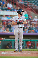Richmond Flying Squirrels Joey Bart (33) at bat during an Eastern League game against the Erie SeaWolves on August 28, 2019 at UPMC Park in Erie, Pennsylvania.  Richmond defeated Erie 6-4 in the first game of a doubleheader.  (Mike Janes/Four Seam Images)