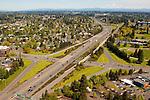 Aerial View of I-5, Vancouver, Washington