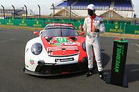 POLEMAN LM GTE PRO #91 PORSCHE GT TEAM (DEU) PORSCHE 911 RSR 19 LM GTE PRO  GIANMARIA BRUNI (ITA)