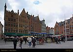 Market Square, Bruges, Brugge, Belgium