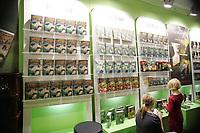 Jede Menge Bücher von Harry Potter auf der Buchmesse