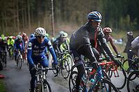 Bjorn Thurau (DEU/Wanty-Groupe Gobert) & Daniel Martin (IRL/Etixx-Quickstep) up the Col du Rosier<br /> <br /> 102nd Liège-Bastogne-Liège 2016