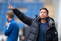 Harry Kewell, Manager of Oldham Athletic during Colchester United vs Oldham Athletic, Sky Bet EFL League 2 Football at the JobServe Community Stadium on 3rd October 2020