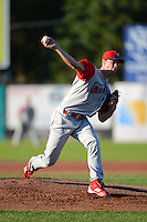 Williamsport Crosscutters pitcher Shane Martin #33 during a game against the Jamestown Jammers on June 20, 2013 at Russell Diethrick Park in Jamestown, New York.  Jamestown defeated Williamsport 12-6.  (Mike Janes/Four Seam Images)