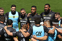 2nd May 2021; Stade Marcel-Deflandre, La Rochelle, France. European Champions Cup Rugby La Rochelle versus  Leinster Semi-Final; La Rochelle huddle