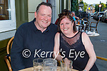 Enjoying the evening in the Grand Hotel on Saturday, l to r: Paul and Ursula Kelliher from Killarney.