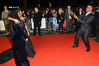 """Angie Thomas, George Tillman Jr. and Amandla Stenberg<br /> arriving for the London Film Festival screening of """"The Hate U Give"""" at the Cineworld Leicester Square, London<br /> <br /> ©Ash Knotek  D3452  20/10/2018"""