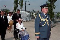 Lise Thibault<br /> , Fete du Canada 1997<br /> <br /> <br /> PHOTO : Agence Quebec Presse