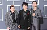 Mike Dirnt, Billie Joe Armstrong, and Tre Cool OF Greenday at The 52nd Annual GRAMMY Awards held at The Staples Center in Los Angeles, California on January 31,2010                                                                   Copyright 2009  DVS / RockinExposures