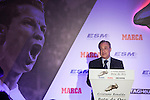 Real Madrid´s President Florentino Perez during the 2014-15 Golden Boot award ceremony in Madrid, Spain. October 13, 2015. (ALTERPHOTOS/Victor Blanco)