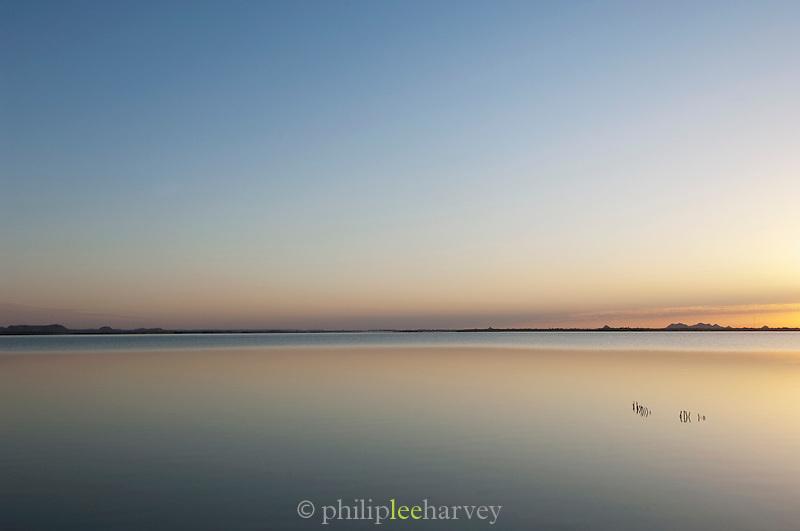 Sunset at the Siwa Oasis, Matruh Governorate, Egypt