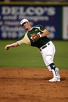 February 27, 2010:  Shortstop Sam Mende of the South Florida Bulls during the Big East/Big 10 Challenge at Bright House Field in Clearwater, FL.  Photo By Mike Janes/Four Seam Images