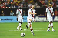 The 2010 Atlanta International Soccer Challenge was held, Wednesday, July 28, at the Georgia Dome, featuring a match between Club America and Manchester City. After regulation time ended 1-1, Manchester City was awarded the victory, winning 4-1, in penalty kicks.