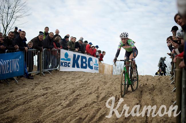 Sophie de Boer (NLD)<br /> <br /> Koksijde CX World Cup 2014