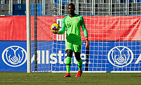 CARSON, CA - FEBRUARY 1: GK Bill Hamid #24 of the United States saves a ball during a game between Costa Rica and USMNT at Dignity Health Sports Park on February 1, 2020 in Carson, California.