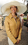 Nancy Littlejohn at the Herman Park Conservancy Hat Party Tuesday March 9,2010. (Dave Rossman Photo)