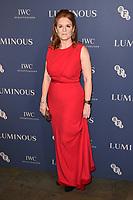 Sarah Ferguson<br /> arriving for the LUMINOUS Gala 2019 at the Roundhouse Camden, London<br /> <br /> ©Ash Knotek  D3522 01/10/2019
