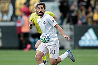 LOS ANGELES, CA - MARCH 01: Rodolfo Pizarro #10 of Inter Miami CF moves with ball during a game between Inter Miami CF and Los Angeles FC at Banc of California Stadium on March 01, 2020 in Los Angeles, California.
