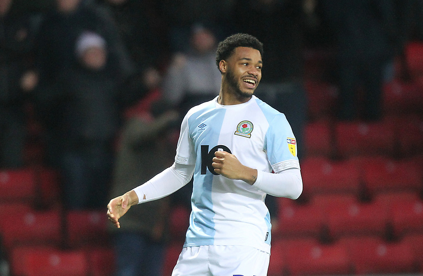 Blackburn Rovers Joe Nuttall<br /> <br /> Photographer Mick Walker/CameraSport<br /> <br /> The EFL Sky Bet Championship - Blackburn Rovers v Ipswich Town - Saturday 19 January 2019 - Ewood Park - Blackburn<br /> <br /> World Copyright © 2019 CameraSport. All rights reserved. 43 Linden Ave. Countesthorpe. Leicester. England. LE8 5PG - Tel: +44 (0) 116 277 4147 - admin@camerasport.com - www.camerasport.com