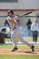 February 21, 2009:  Outfielder Michael Kvasnicka (9) of the University of Minnesota during the Big East-Big Ten Challenge at Jack Russell Stadium in Clearwater, FL.  Photo by:  Mike Janes/Four Seam Images