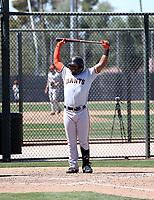 Heliot Ramos - San Francisco Giants 2019 spring training (Bill Mitchell)