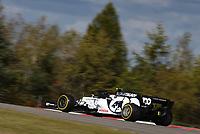 10th 2020, Nuerburgring, Nuerburg, Germany; FIA Formula 1 Eifel Grand Prix, Qualifying sessions;  10 Pierre Gasly FRA, Scuderia AlphaTauri Honda