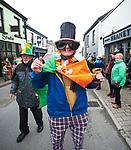 Paddy Barry at the St Patrick's Day parade in Killaloe. Photograph by John Kelly.