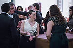 © Joel Goodman - 07973 332324 . 05/03/2015 .  Midland Hotel , Manchester , UK . Networking guests . The Manchester Legal Awards 2015 . Photo credit : Joel Goodman