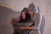 """Querétaro, Qro. 16 de Diciembre, 2015.- Presentación del performance """"[Re]Post. Modelo para armar"""", creación de la compañía """"Astrolabio Investigación Escénica"""", dirigido y actuado por Jean Paul Carstensen y Ambar Luna dentro del marco del """"Segundo Encuentro Imaginartes 2015 que se lleva a cabo del 7 al 18 de Diciembre del presente año, en el Museo de la Ciudad<br /> <br /> Foto: David Steck"""